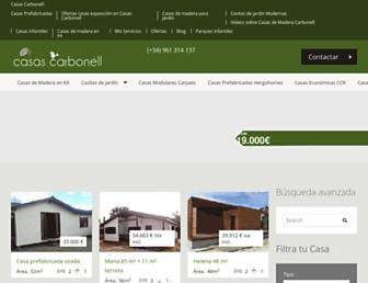 casascarbonell.es screenshot