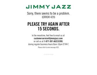 jimmyjazz.com screenshot
