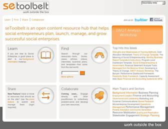 setoolbelt.org screenshot
