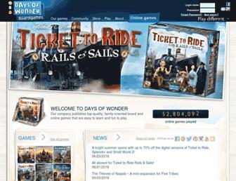 daysofwonder.com screenshot