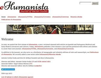 ehumanista.ucsb.edu screenshot