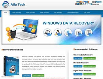 recoverydeletedfiles.com screenshot