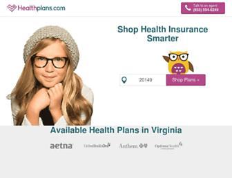 Thumbshot of Healthplans.com