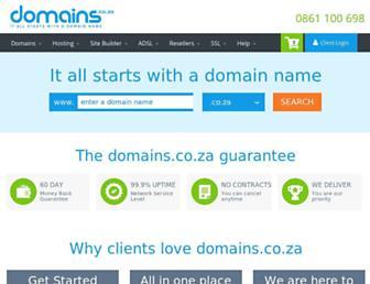 Thumbshot of Domains.co.za
