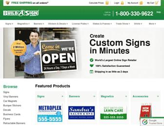 buildasign.com screenshot