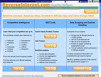 reverseinternet.com screenshot