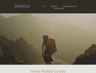 orjecla.yolasite.com screenshot