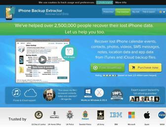 Thumbshot of Iphonebackupextractor.com