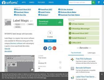 label-magic.en.softonic.com screenshot