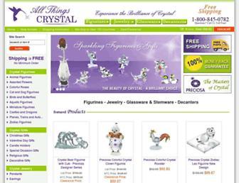 allthingscrystal.com screenshot