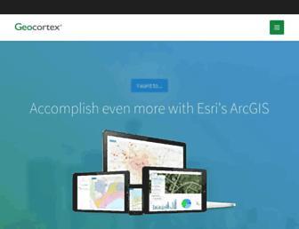 geocortex.com screenshot