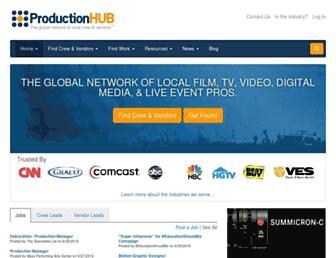 productionhub.com screenshot
