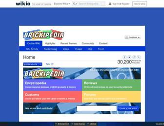 lego.wikia.com screenshot