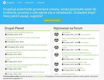 Thumbshot of Drupal.pl