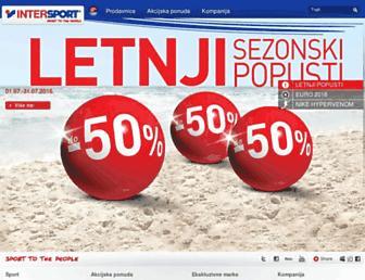 intersport.rs screenshot