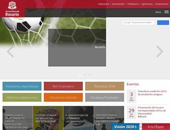 urosario.edu.co screenshot