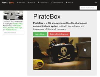 piratebox.cc screenshot