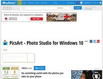 picsart.en.softonic.com screenshot
