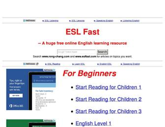 Thumbshot of Eslfast.com
