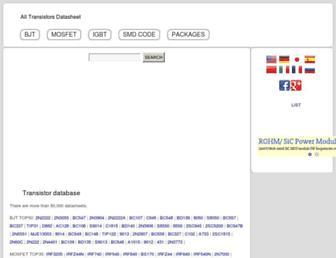 alltransistors.com screenshot