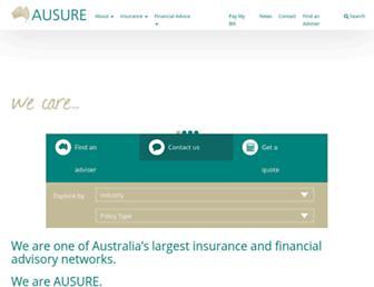 ausure.com.au screenshot