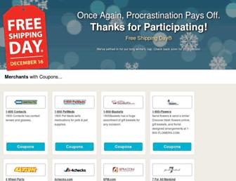 Thumbshot of Freeshippingday.com