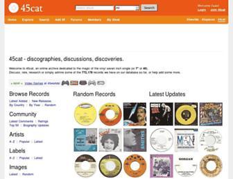 Thumbshot of 45cat.com