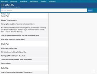 islamqa.org screenshot