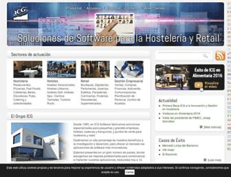 icg.es screenshot