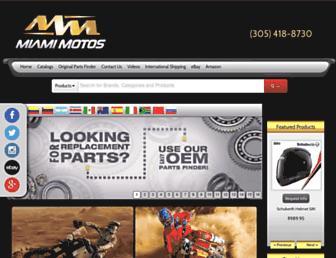 shopmiamimotos.com screenshot