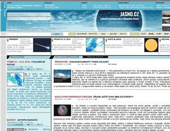 Main page screenshot of jasno.cz