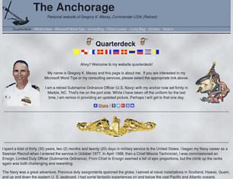 gregmaxey.com screenshot