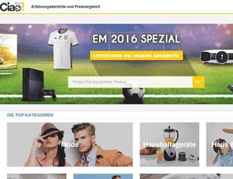 ciao.de screenshot