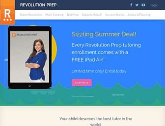 Thumbshot of Revolutionprep.com
