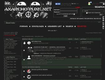 anarcho-punk.net screenshot
