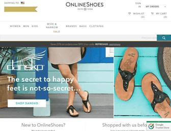 Thumbshot of Onlineshoes.com