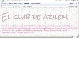 elclubdeazilem.blogspot.com screenshot