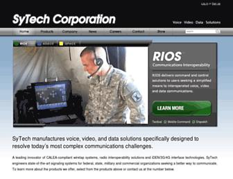 sytechcorp.com screenshot