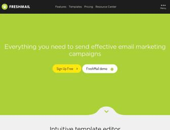 Thumbshot of Freshmail.com