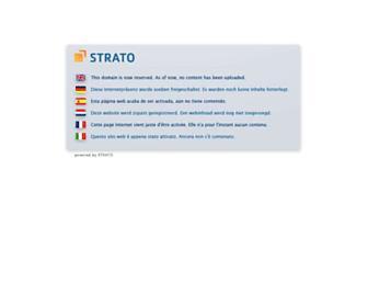 Main page screenshot of mstore.de