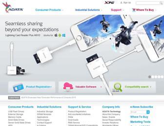 Thumbshot of Adata.com