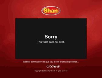 shanfoods.com screenshot