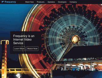 frequency.com screenshot
