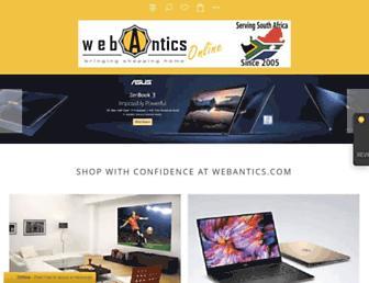 webantics.com screenshot
