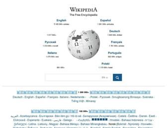 Thumbshot of Wikipedia.org