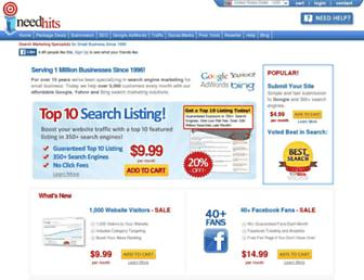 Thumbshot of Ineedhits.com