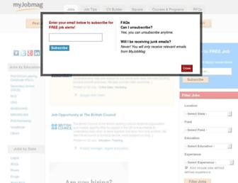 myjobmag.com screenshot