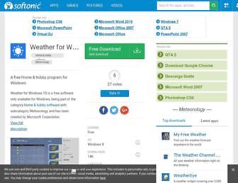 weather-windows-10.en.softonic.com screenshot