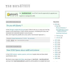 webreflection.blogspot.com screenshot