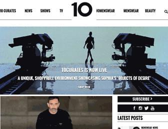 10magazine.com screenshot